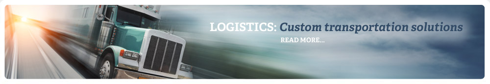 Logistics: Custom transportation solutions